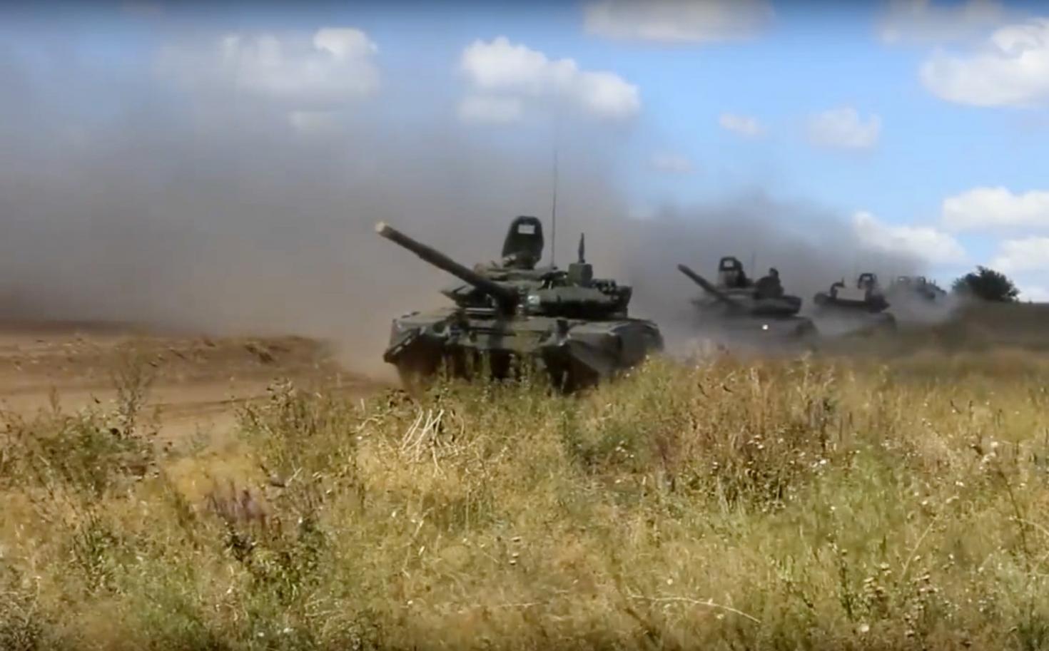 A második világháború óta nem mozdult meg ekkora orosz haderő