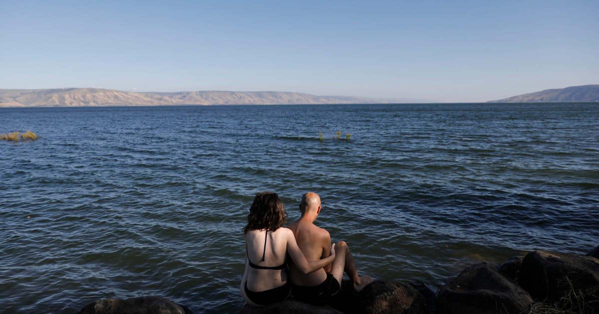 Szinte teljesen megtelt a bibliai Genezáreti-tó a heves esőzések miatt