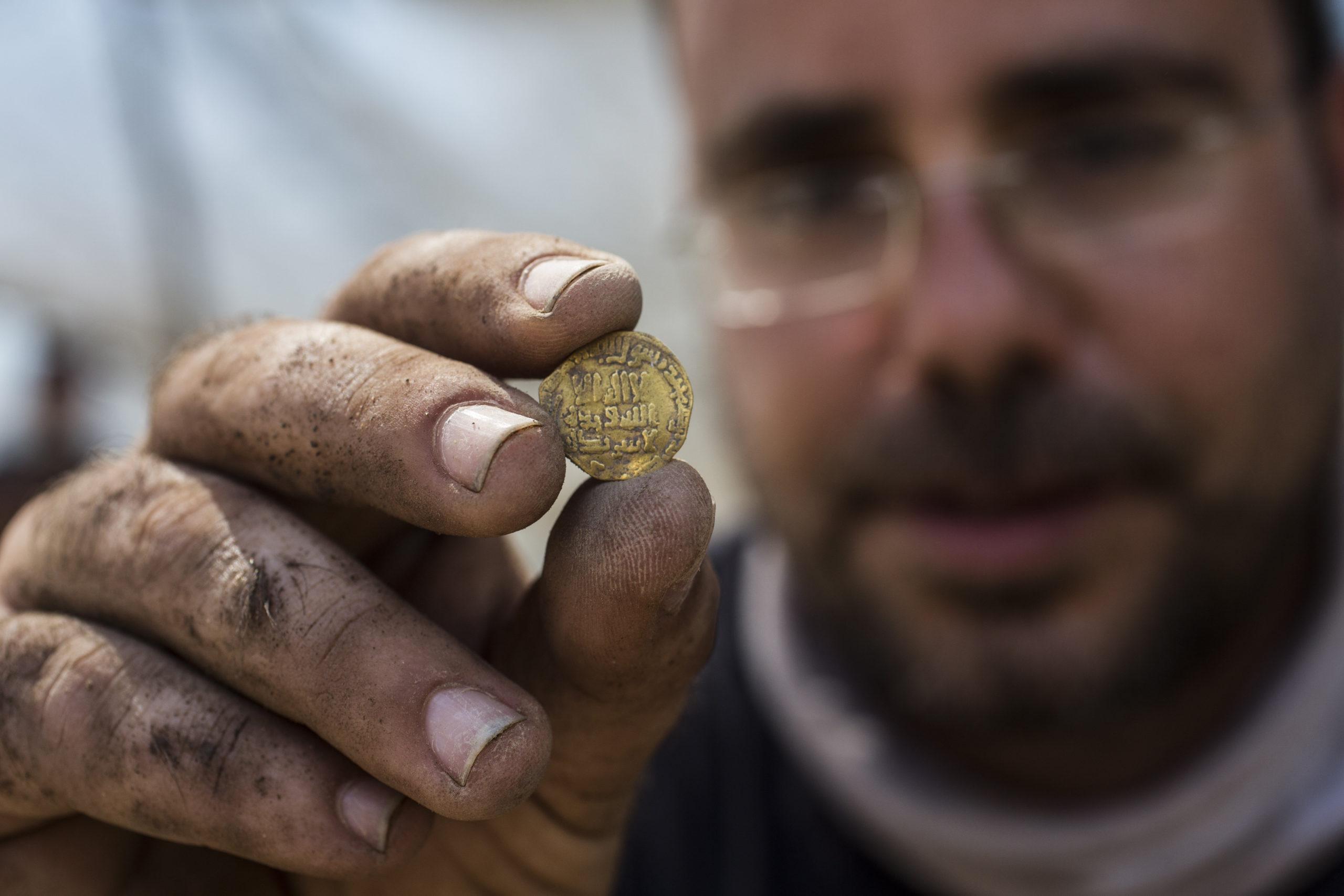 Rendkívül ritka leletre bukkantak amatőr régészek egy izraeli ásatáson