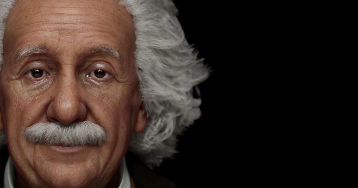 Itt élőben kérdezhetjük a digitálisan újraalkotott Einsteint   BAMA